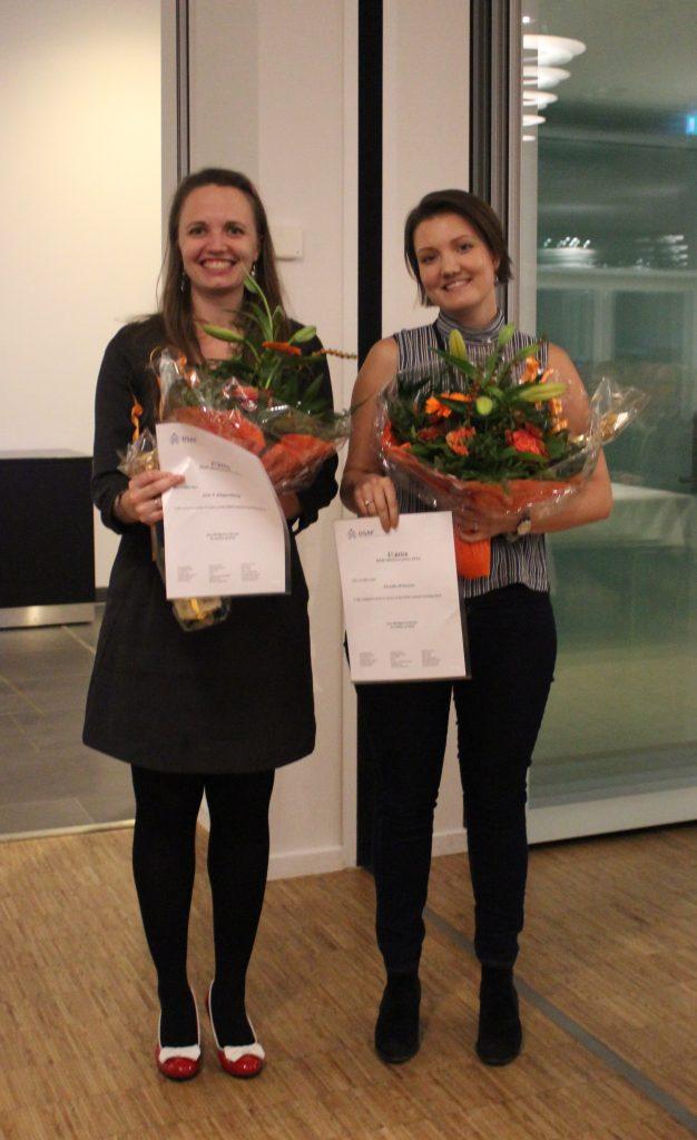De glade vindere af abstract konkurrencen 2016